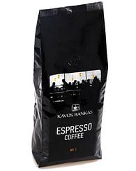 Кофе натуральный в зернах Espresso Coffe №1 Kavos Bankas