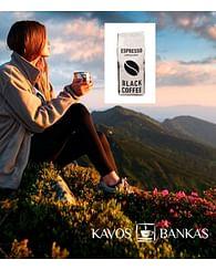 Кофе натуральный жареный в зернах BLACK COFFE,Вьетнам Kavos Bankas