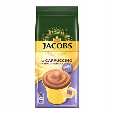 Кофе Jacobs Cappuccino Choco Vanille/Ванильный/ растворимый 500 г