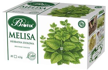 Травяной чай МЕЛИССА, 20 х 2 г biofix