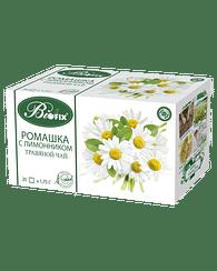 Ромашка с Лимонником Травяной Фиточай, 20 x 1,75 г biofix