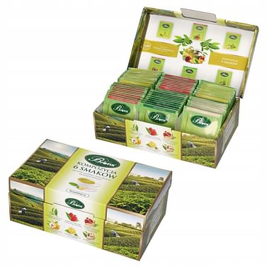 Композиция 6 вкусов зеленый чай BioFix