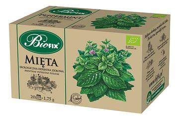 Травяной чай МЯТА Органическая BIOFIX