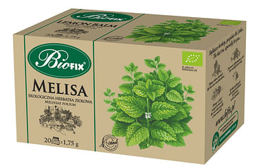 Травяной чай МЕЛИССА Органическая BIOFIX