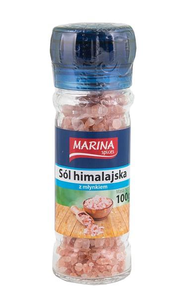 Соль гималайская крупная розовая MARINA Spices