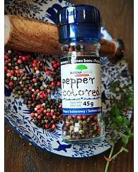 Перец цветной (4 перца) в мельнице MARINA Spices