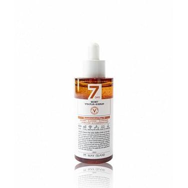 Витаминизированная сыворотка MAY ISLAND 7 Days Secret Vita Plus-10 Serum. 50мл.