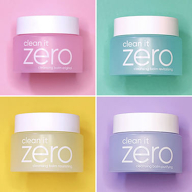 Очищающий бальзам в ассортименте Zero BANILA CO Clean it Zero Special Kit, 7мл.