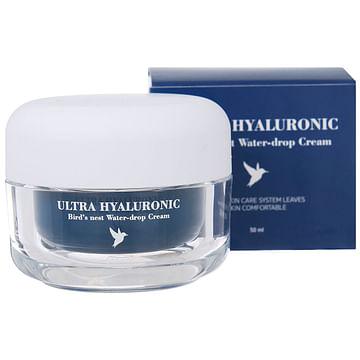 Крем с гиалуроновой кислотой и экстрактом ласточкиного гнезда Esthetic House Ultra Hyaluronic Bird's Nest Water-drop Cream, 50мл