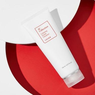 У/Т Успокаивающая пенка для проблемной кожи COSRX AC Collection Calming Foam Cleanser, 150мл.