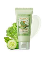 Крем-гель увлажняющий с экстрактами листьев салата и огурца SKINFOOD Premium Lettuce & Cucumber Watery Cream, 60мл.