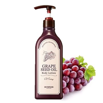 Гель для душа/Лосьон для тела с маслом виноградных косточек SKINFOOD Grape Seed Oil Body / Wash, 335мл.