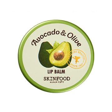 Бальзам для губ SKINFOOD Avocado & Olive Lip Balm, 20гр.