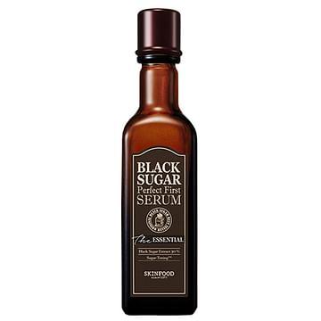 Первая сыворотка-эссенция с экстрактом черного сахара SKINFOOD Black Sugar Perfect First Serum, 120мл.