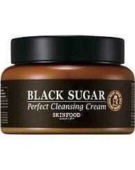 Очищающий крем с экстрактом черного сахара SKINFOOD Black Sugar Perfect Cleansing Cream, 230мл.