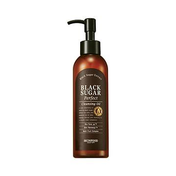 Гидрофильное очищающее масло с экстрактом черного сахара SKINFOOD Black Sugar Cleansing Oil, 170мл.