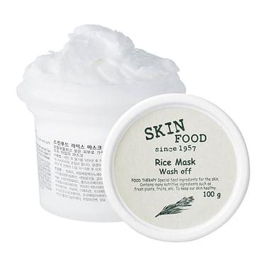 Рисовая очищающая маска SKINFOOD Rice Mask Wash Off, 100мл.