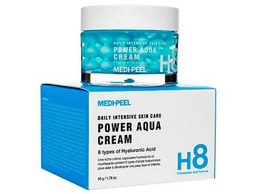 Увлажняющий крем с пептидными капсулами MEDI-PEEL Power Aqua Cream, 50мл.