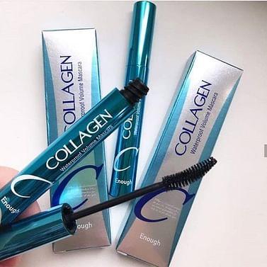 Тушь для ресниц водостойкая Enough Collagen Waterproof volume Mascara, 9мл.