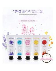 Крем для рук Baekoksaeng Flower hand cream, 35мл.
