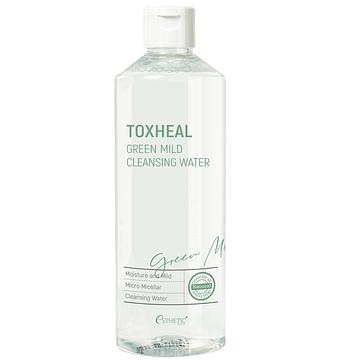 Жидкость для снятия макияжа Esthetic House TOXHEAL Green Mild Cleansing Water, 530 мл.