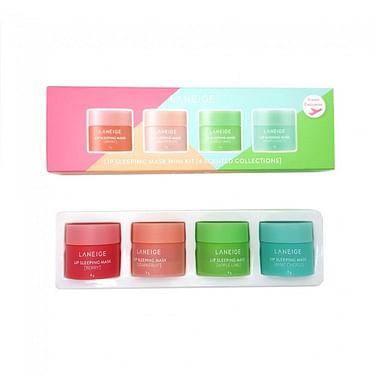 Набор ночных масок для губ LANEIGE Lip Sleeping Mask Mini Kit, 4*8гр.