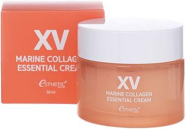 Крем с морским коллагеном и морскими водорослями Esthetic House Marine Collagen Essential Cream, 50мл.