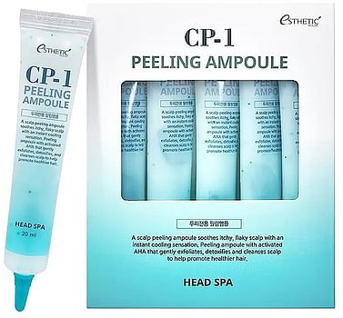 Пилинг-сыворотка для кожи головы Esthetic House CP-1 Peeling Ampoule, 1шт.*20мл.