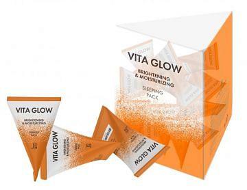 Ночная витаминная маска J:ON Vita Glow Brightening&Moisturizing Sleeping Pack 1шт*5гр.