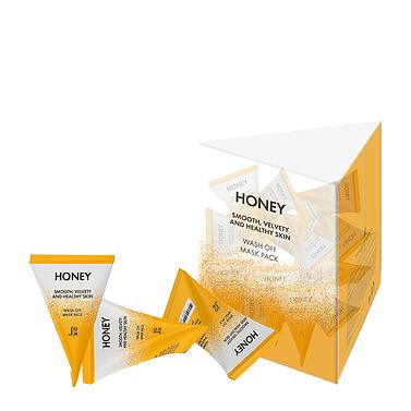 Маска для лица с медом J:ON Honey Smooth Velvety and Healthy Skin Wash Off Mask Pack 1шт*5гр.