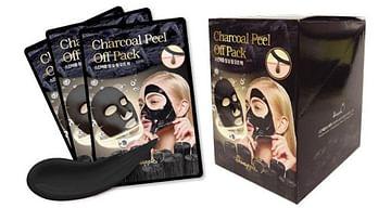 Mаска-плёнка (угольная) для лица SkinApple charcoal peel off pack, 10гр.
