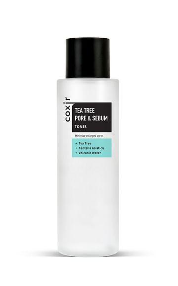 Тонер с чайным деревом для контроля жирности кожи coxir Tea Tree Pore & Sebum Toner, 150мл.