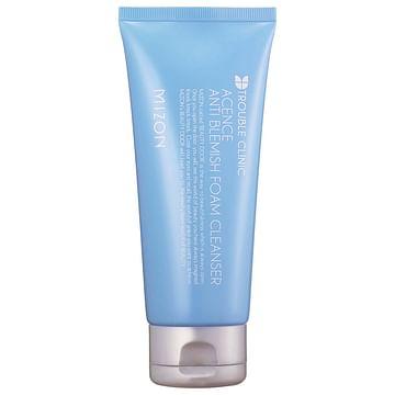 Пенка для очищения проблемной кожи MIZON Acence Anti Blemish Foam Cleanser,150мл.