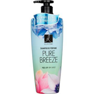 Шампунь для всех типов волос (парфюмированный) LG Elastine Pure Breeze Shampoo, 600мл.