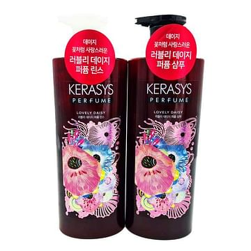 Кондиционер для поврежденных волос Kerasys Lovely Daisy Perfume Rinse, 600мл.