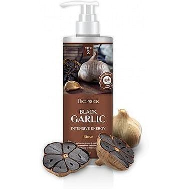 Интенсивный восстанавливающий бальзам от выпадения волос с чёрным чесноком Deoproce Black Garlic Intensive Energy Rinse, 1000мл.