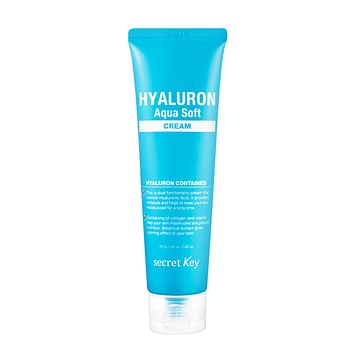 Крем для лица с гиалуроновой кислотой Secret Key Secret Key Hyaluron Aqua Soft Cream,70гр.