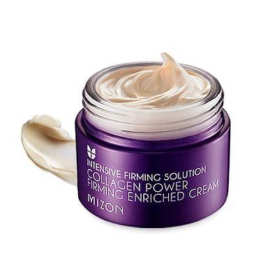 Укрепляющий питательный коллагеновый крем MIZON Collagen Power Firming Enriched Cream, 50мл.