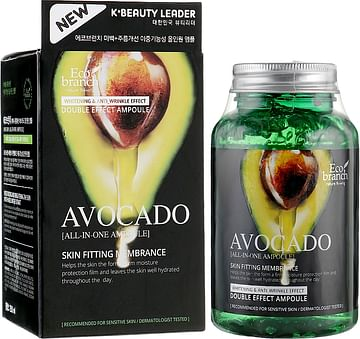 Ампульная сыворотка с экстрактом авокадо Eco branch Avocado All-In-One Ampoule, 250мл.
