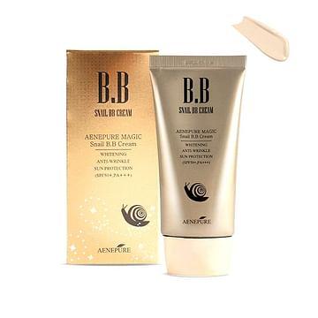Многофункциональный улиточный BB-крем Aenepure BB Cream SPF 50+ PA+++ ,50 мл.