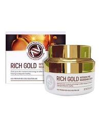 Питательный крем с золотом Enough Rich Gold Intensive Pro Nourishing Cream, 50мл.