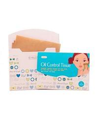 Матирующие салфетки против жирного блеска Cettua Oil Control Tissue, 50шт.