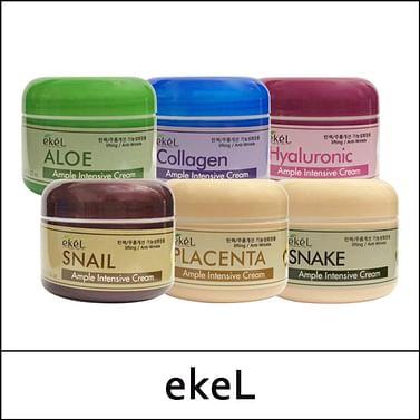 Интенсивный подтягивающий ампульный крем Ekel Ample Intensive Cream, 100гр. - Коллаген