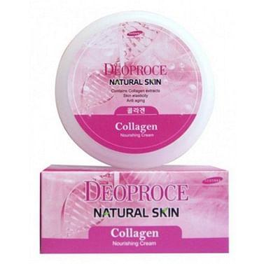 Крем для лица и тела Deoproce Natural Skin Nourishing Cream - Жемчуг