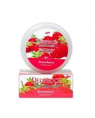Крем для лица и тела Deoproce Natural Skin Nourishing Cream - Клубника