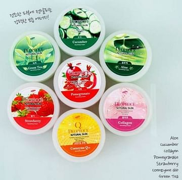 Крем для лица и тела Deoproce Natural Skin Nourishing Cream - Олива