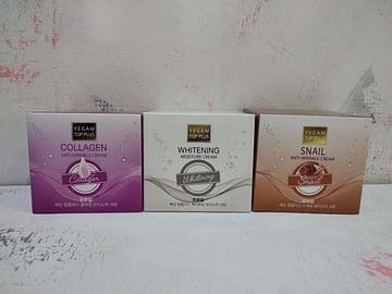 Крем для лица антивозрастной Ye Gam Top Plus Anti-Wrinkle Cream, 100гр. - Коллаген