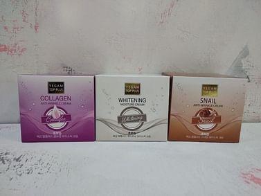 Крем для лица антивозрастной Ye Gam Top Plus Anti-Wrinkle Cream, 100гр. - Улитка