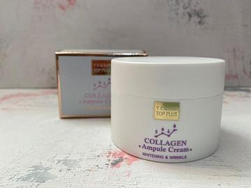 Крем для лица Ye Gam Top Plus Ampoule Cream, 80 мл. - Коллаген