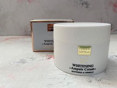 Крем для лица Ye Gam Top Plus Ampule Cream, 80 мл. - Отбеливание